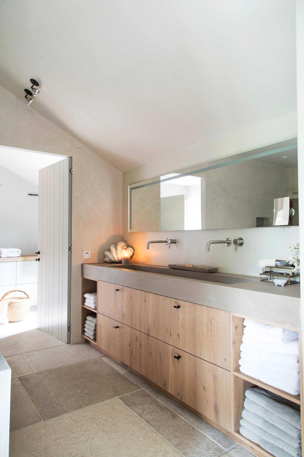 Landelijk & glamour badkamer