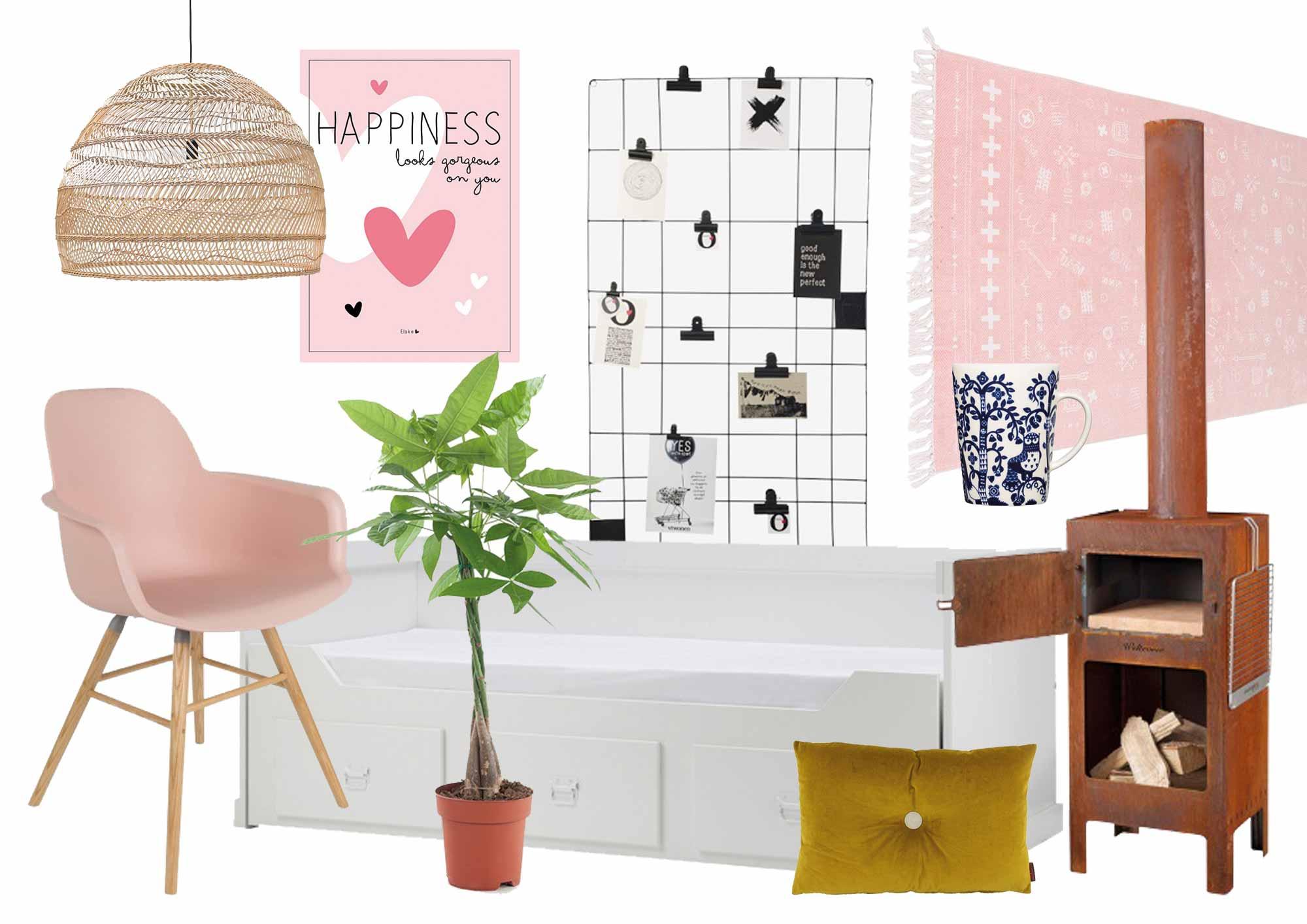 verlanglijstje voorjaarshuis in de stijl van blogger elske