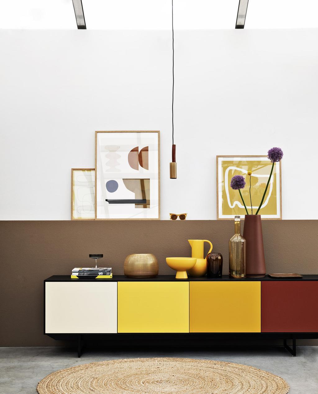 Met een geel interieur haal je eenvoudig de zomer in huis