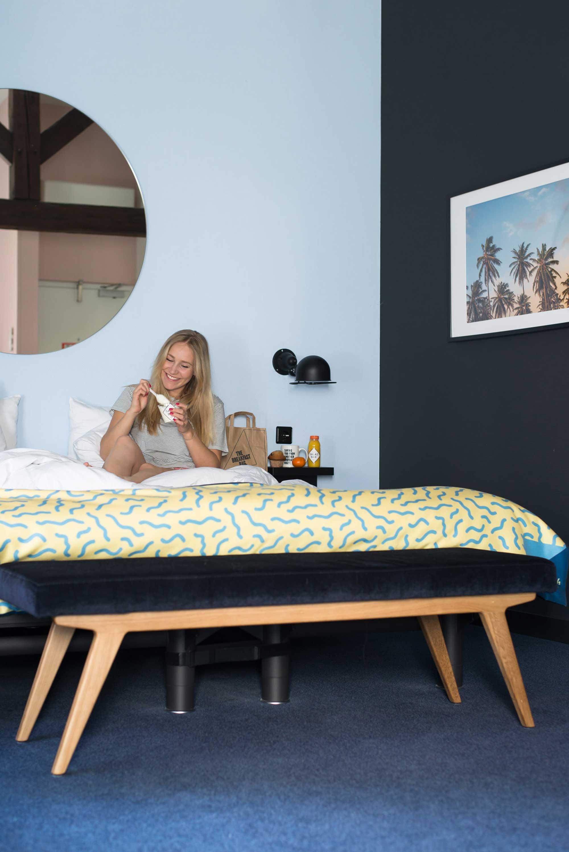 Dutch hotel bed