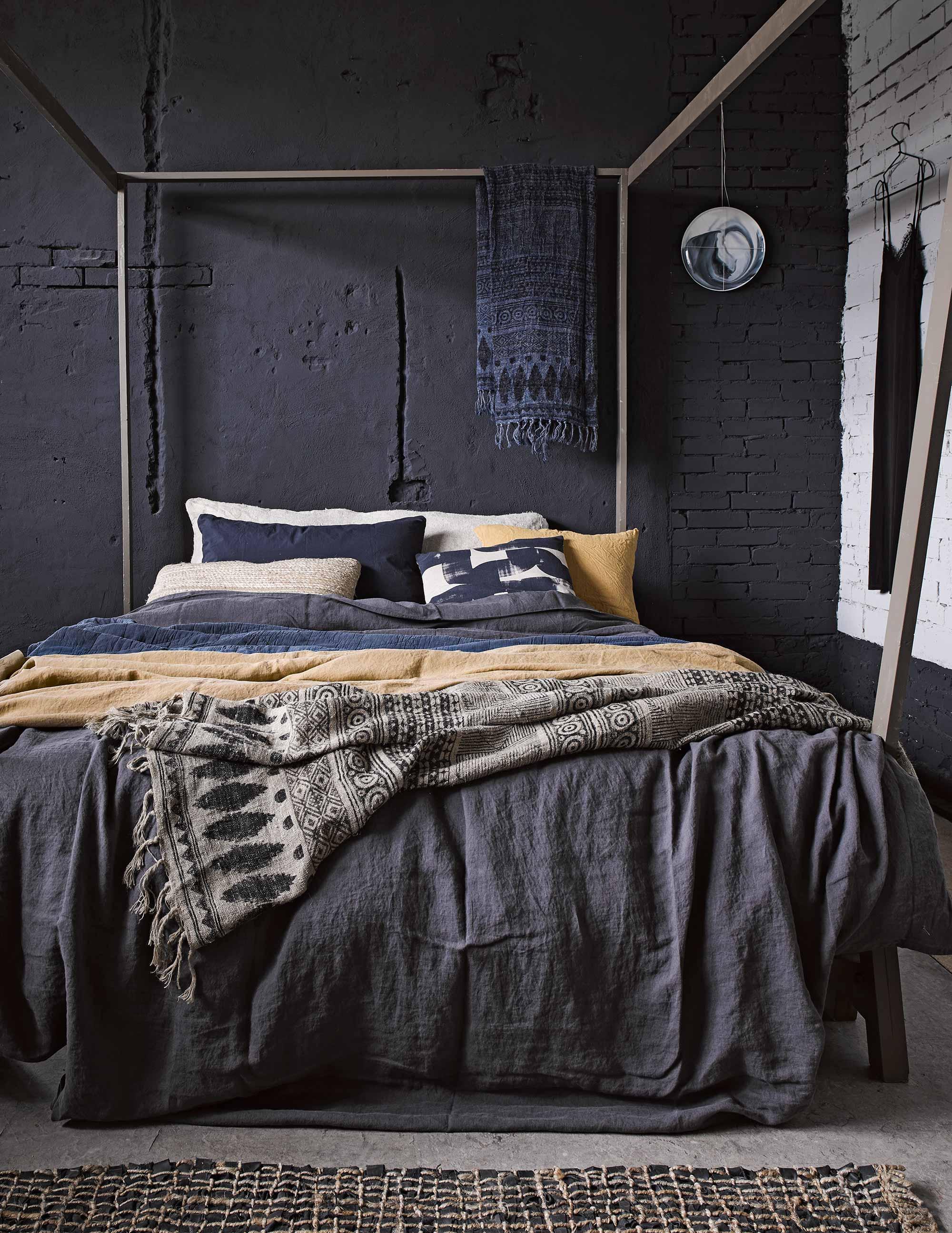styling donker slaapkamer