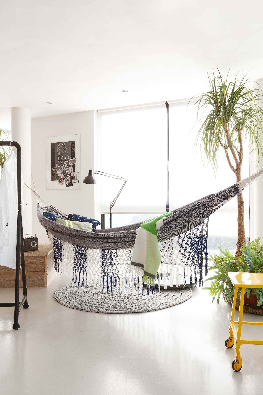 hangmat woonkamer