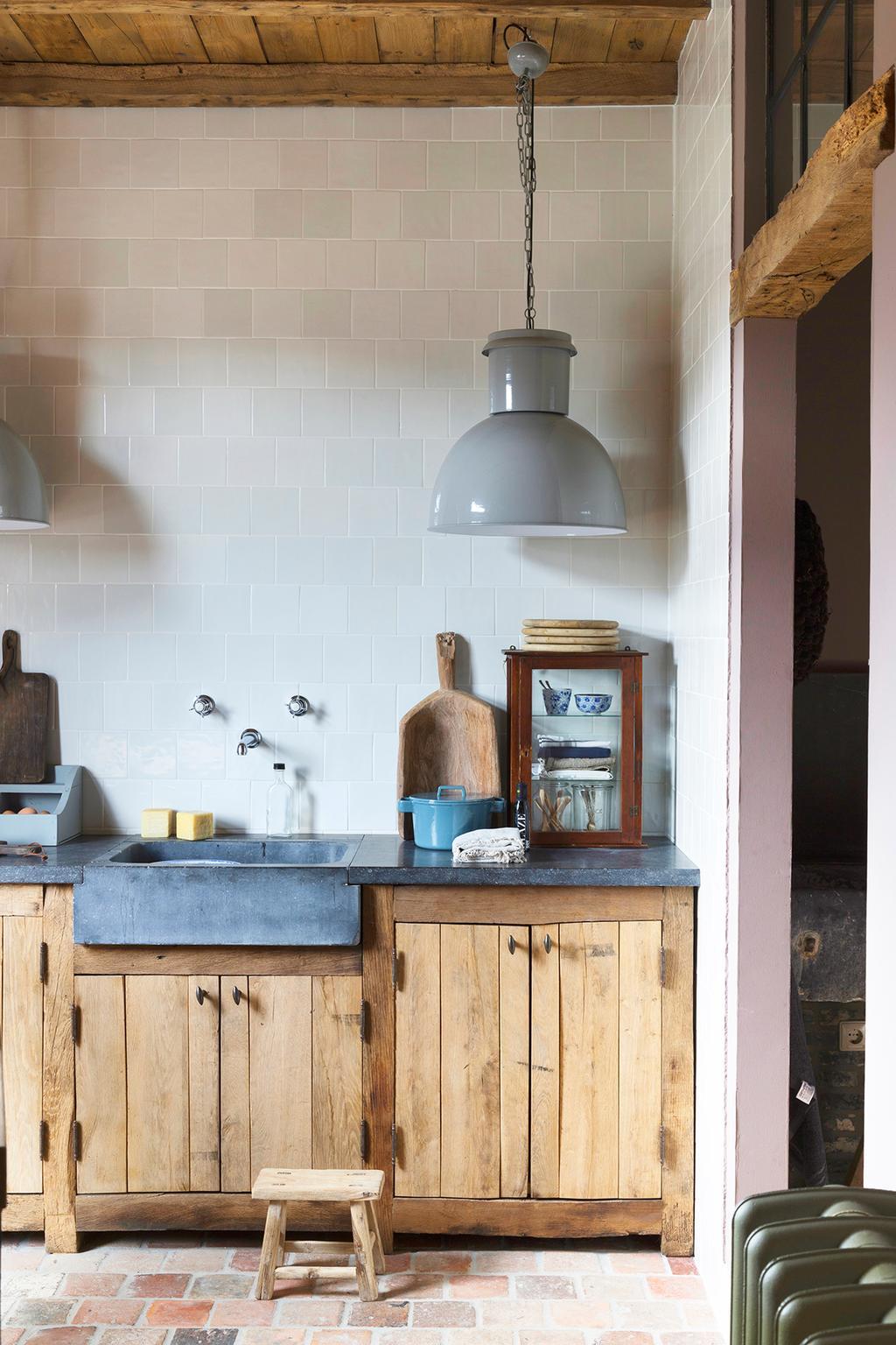 't achterhuis styling keuken