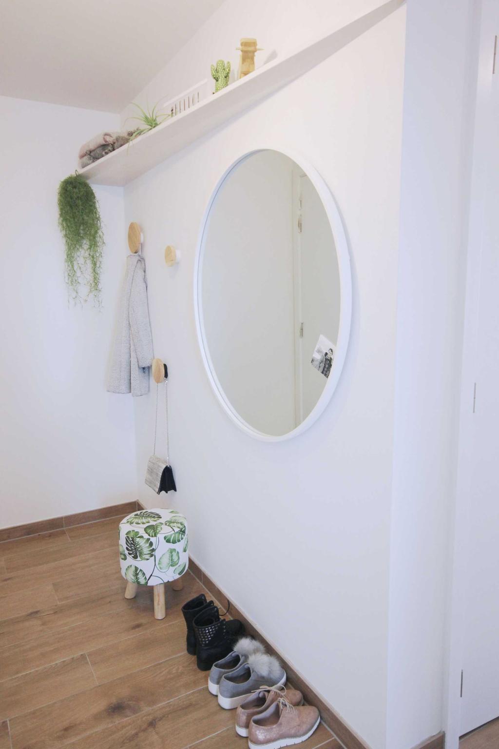 projecthometobe ronde spiegel wit