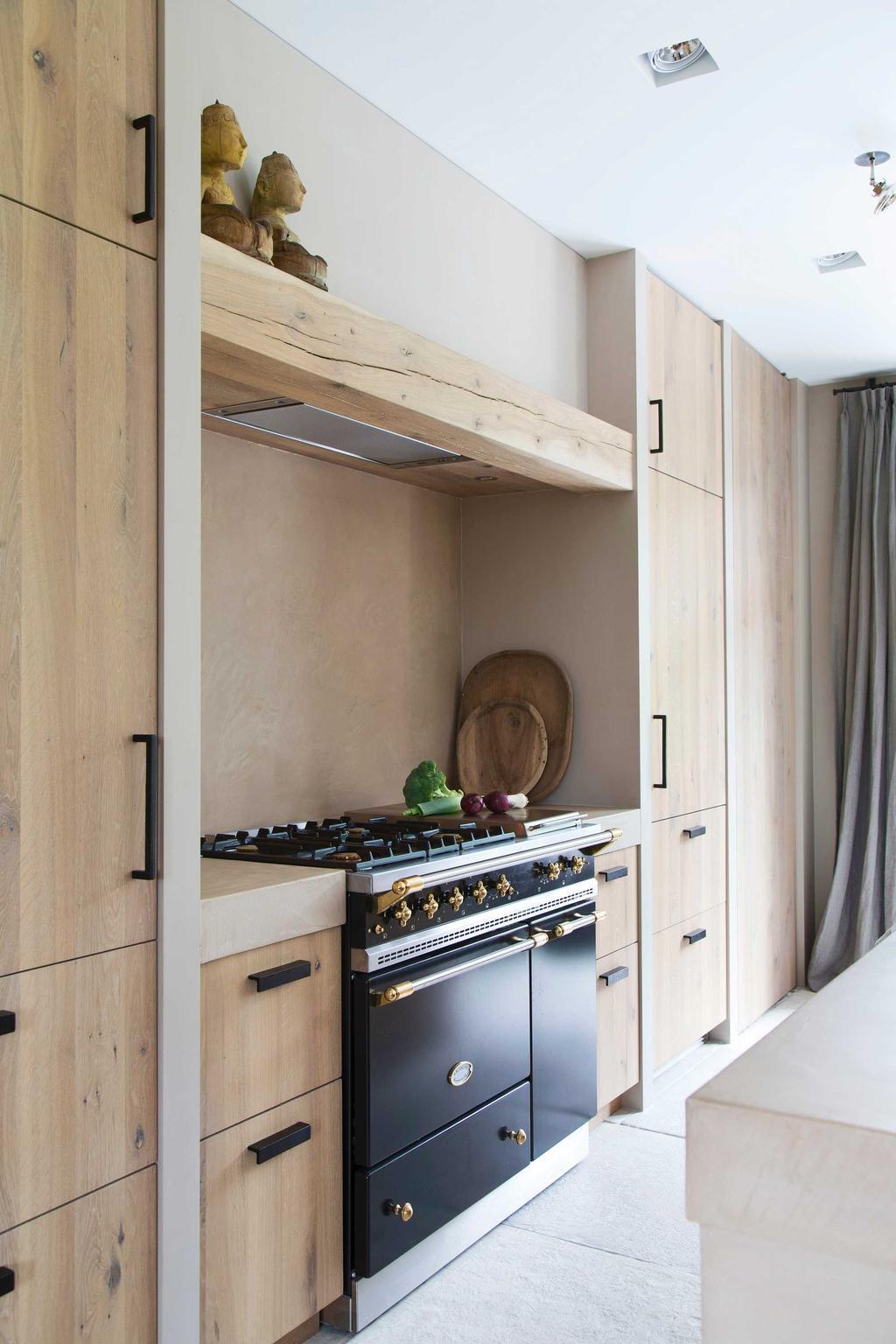 Landelijk & glamour keuken fornuis