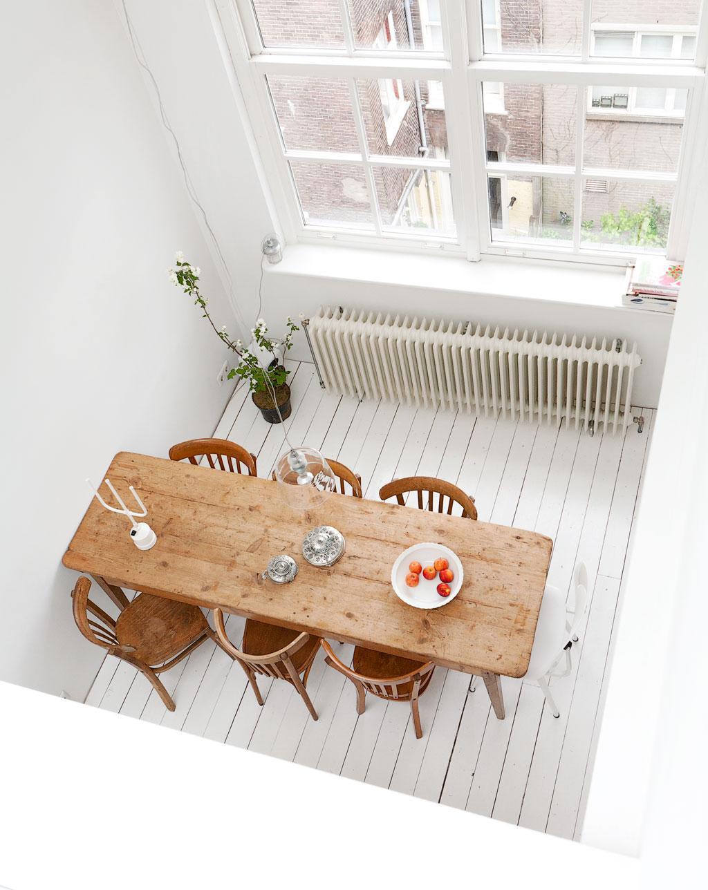 houten eettafel