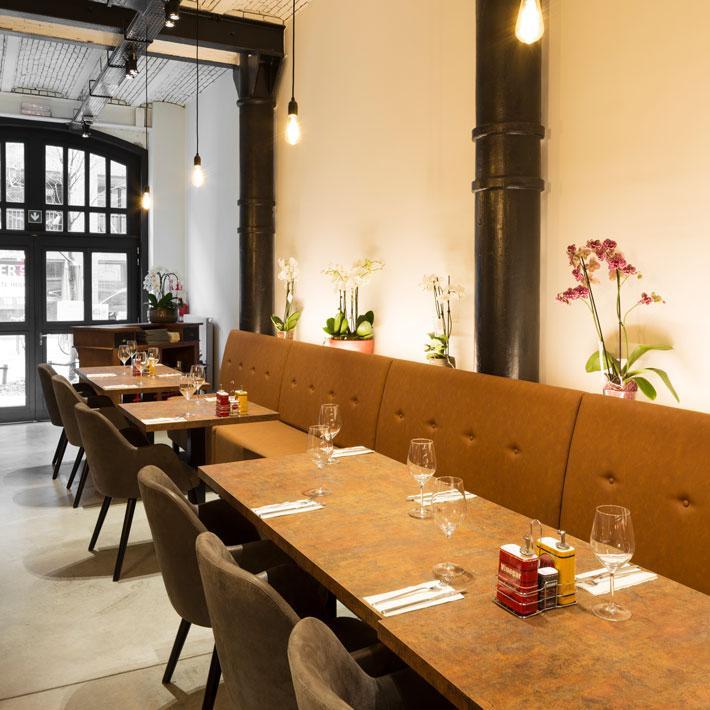 Midden-Oosterse keuken in restaurant Little Beirut in Antwerpen