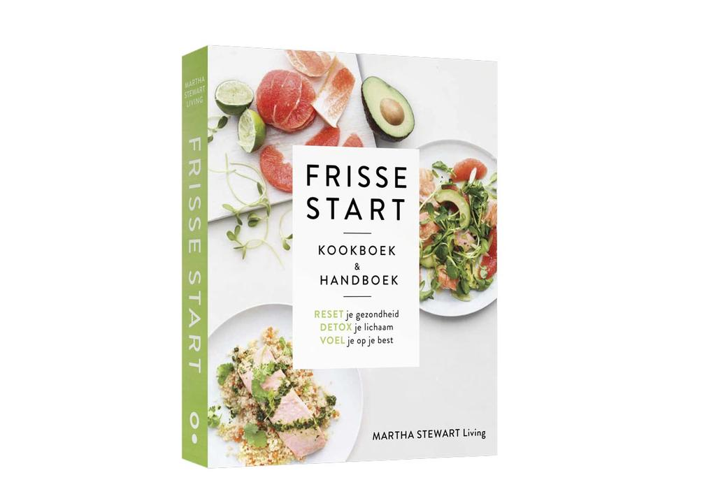 abonneecadeau kookboek Frisse start van Martha Stewart