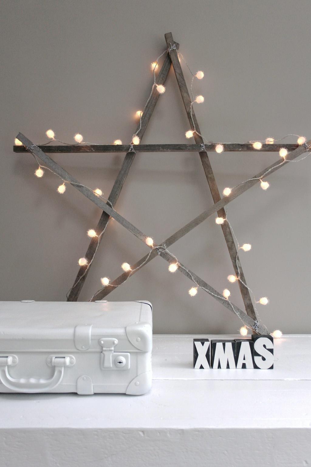 DIY kerst ster