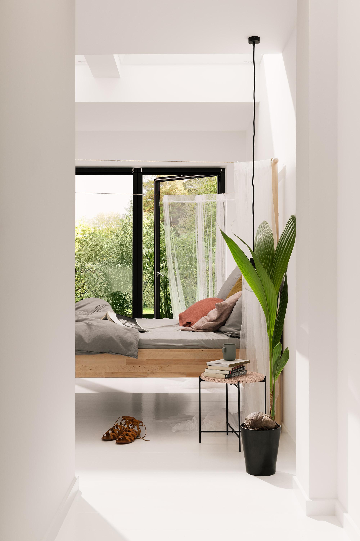 Slaapkamer met daglicht