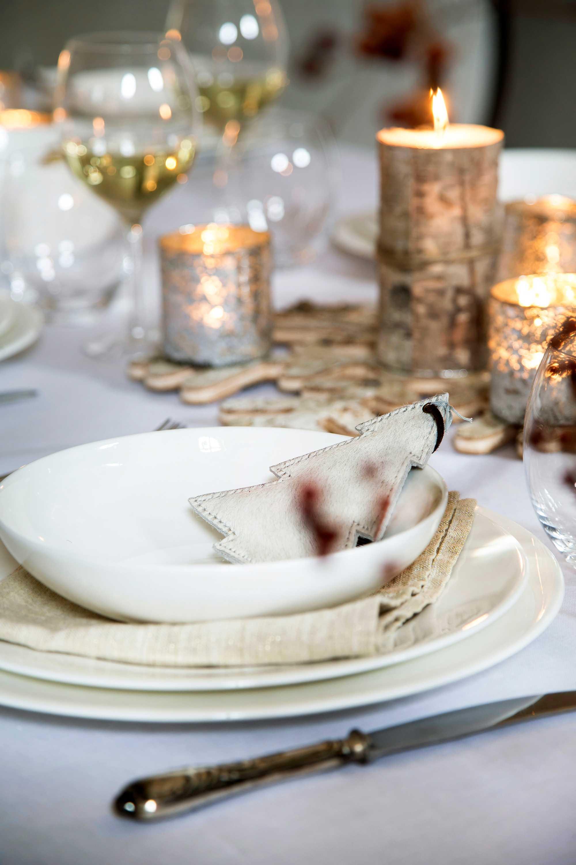 tafel kerst servies