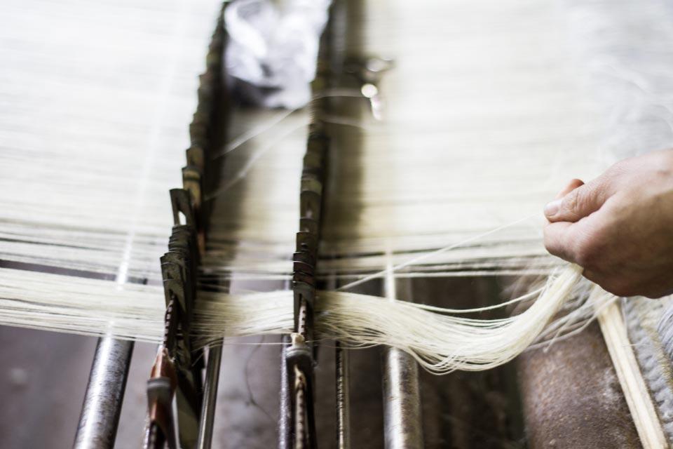 werkwijze linnen dekbedover
