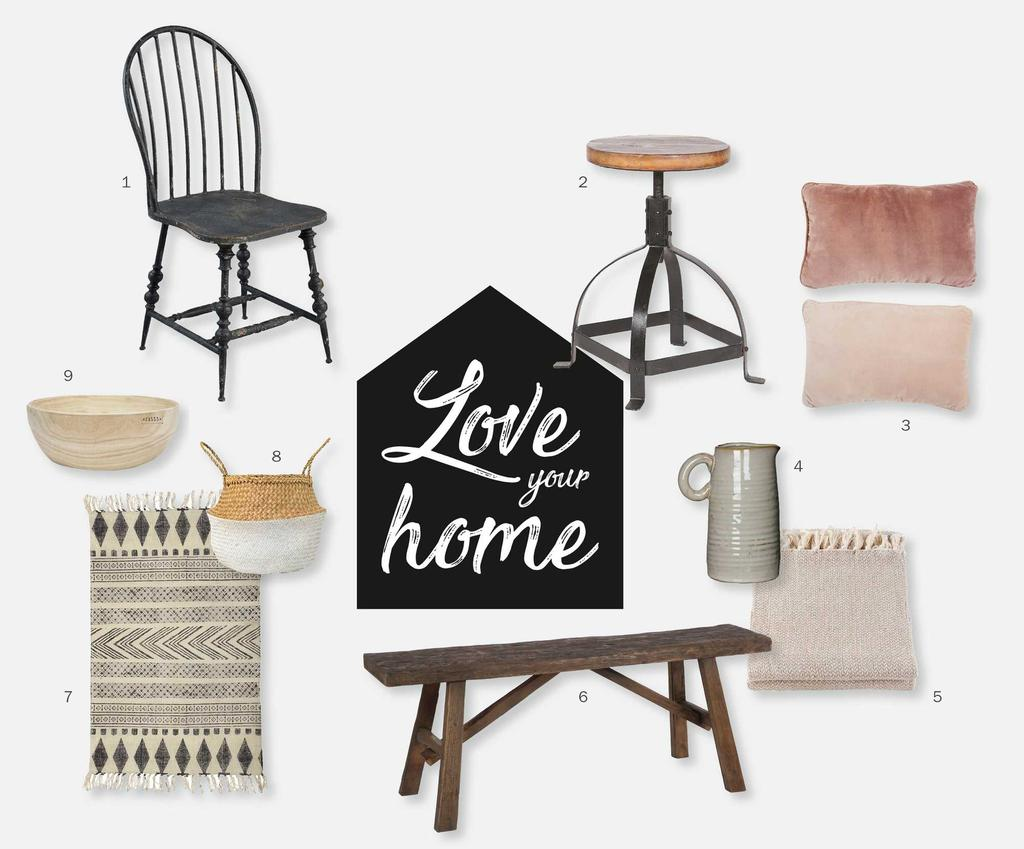 7,50 euro shoptegoed love your home