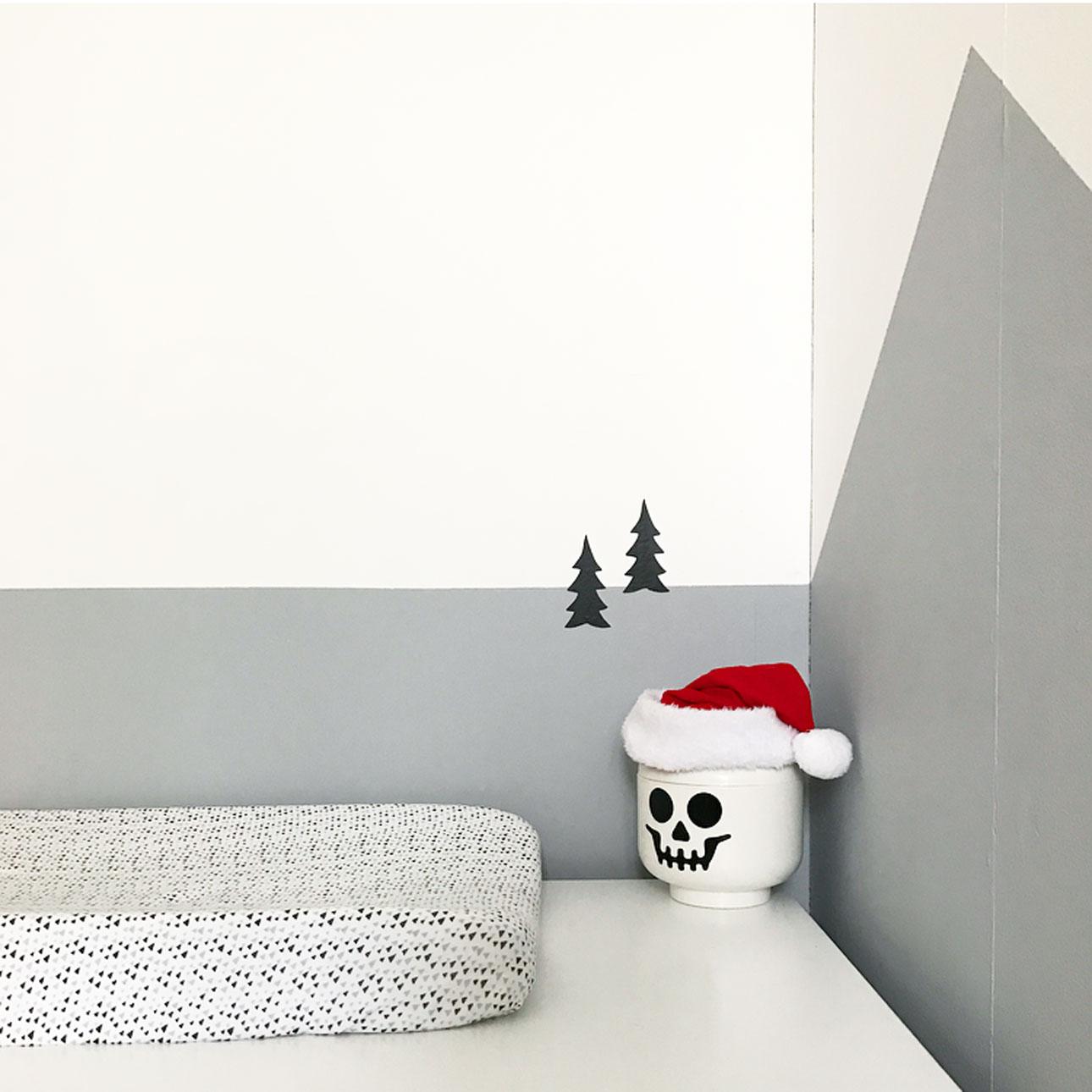 kerst kinderkamer commode