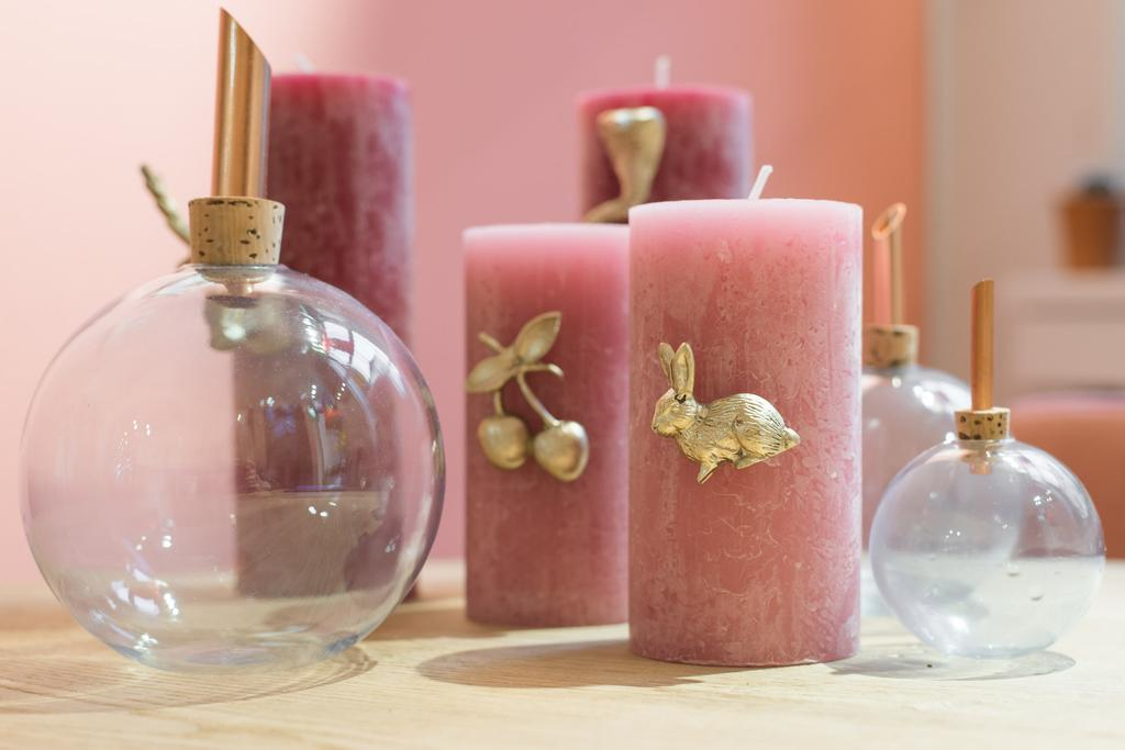 Roze accessoires REMADE with love