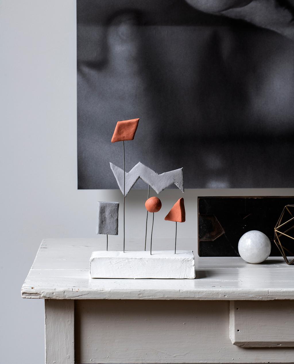 vtwonen DIY special 01 2020   klei kunst object