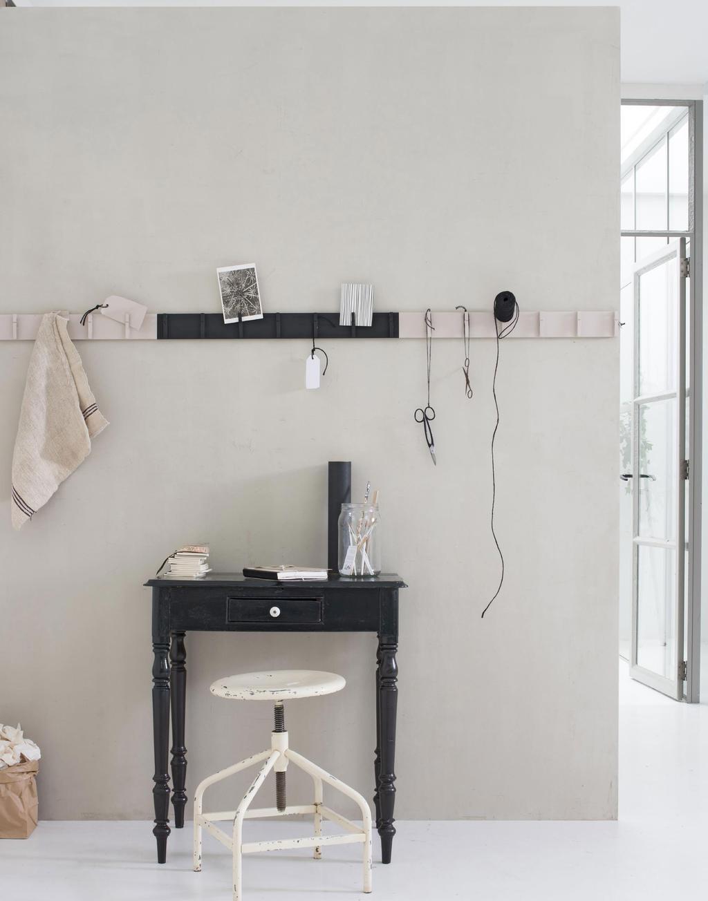 DIY kapstok maken wasknijpers