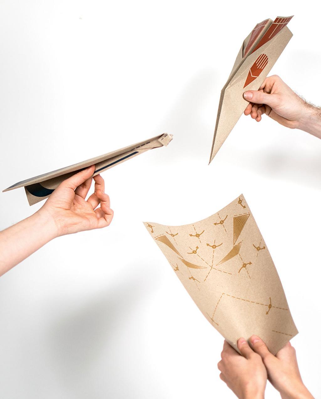 vtwonen | blog StudentDesign papieren vouw vliegtuigje