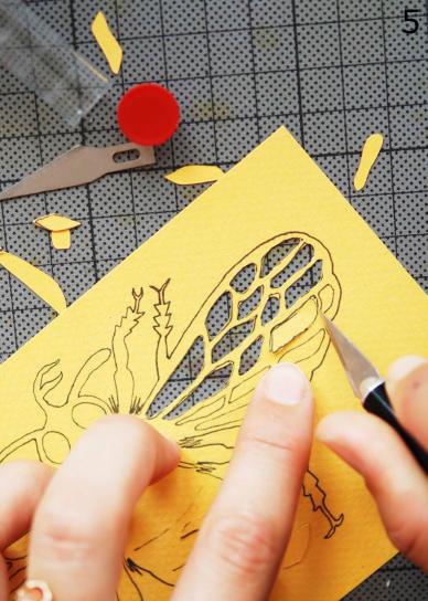 papercut maken