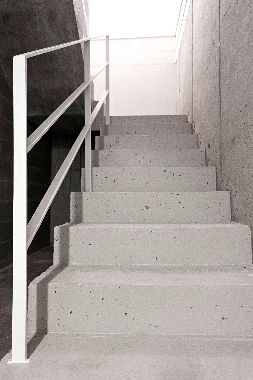 trap beton grijs