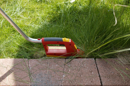 Graskanten knippen