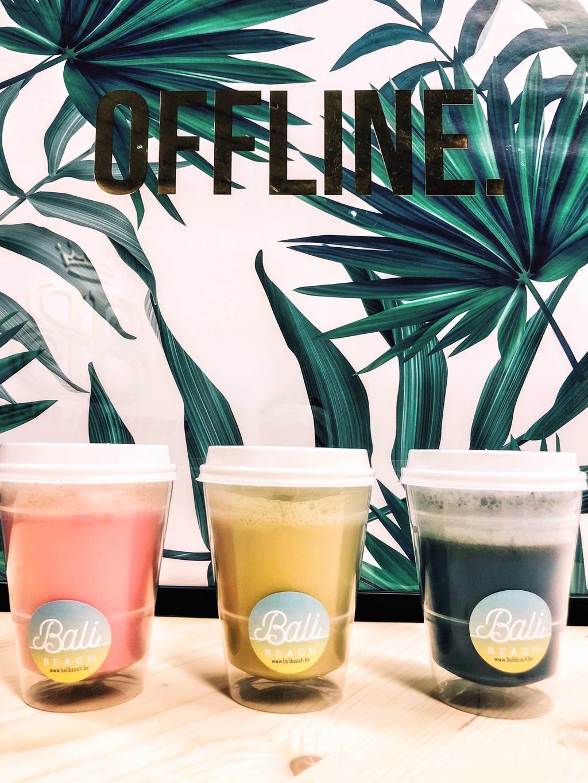 bali beach latte koffie en thee