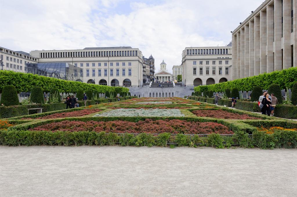 De Tuin van de Kunstberg in Brussel