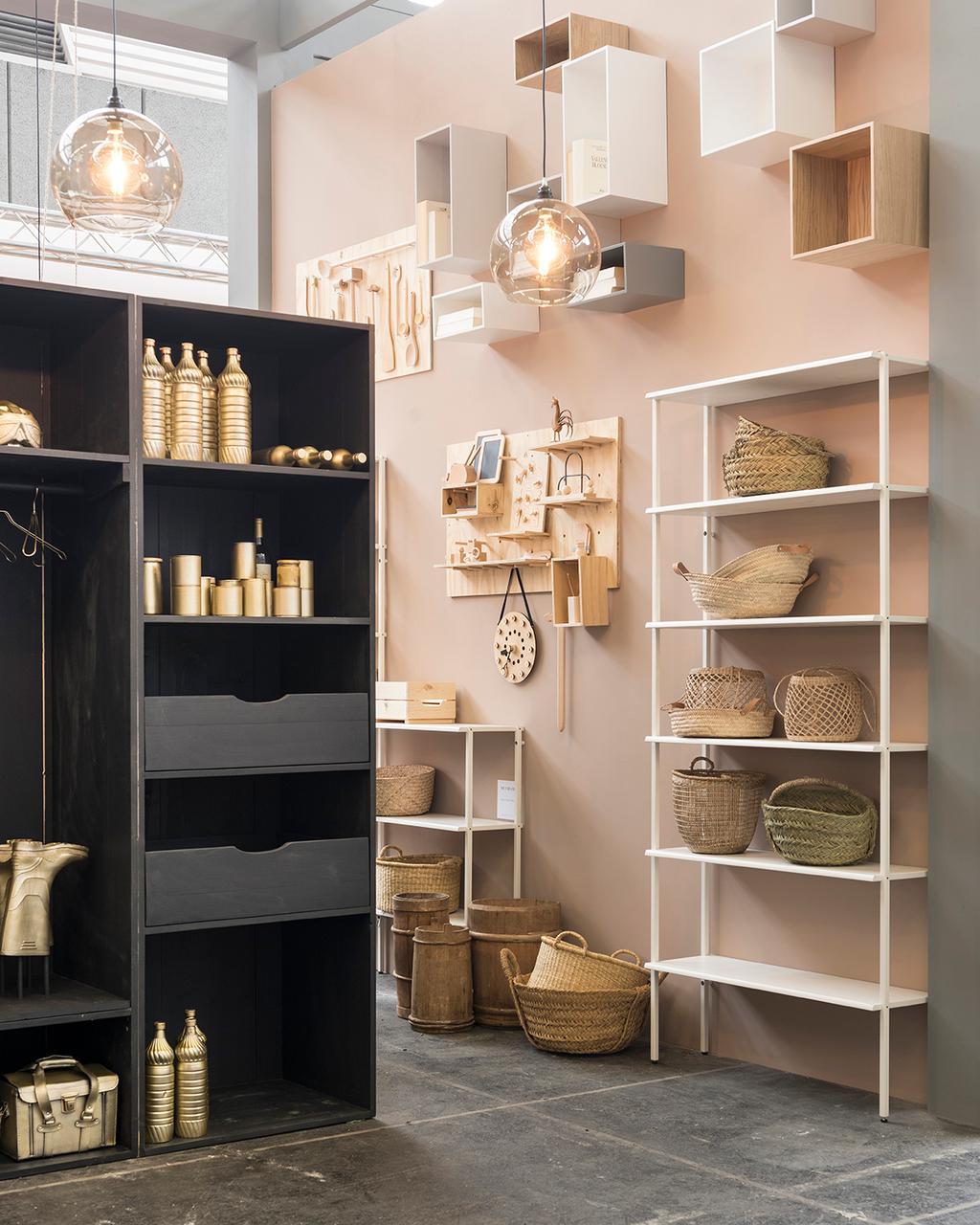 De opbergruimte in het vtwonen huis op de vt wonen&design beurs.