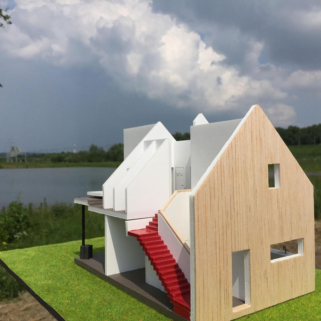 duurzaam wonen zonder technische snufjes rode trap huis ecowijk de kiem arnhem