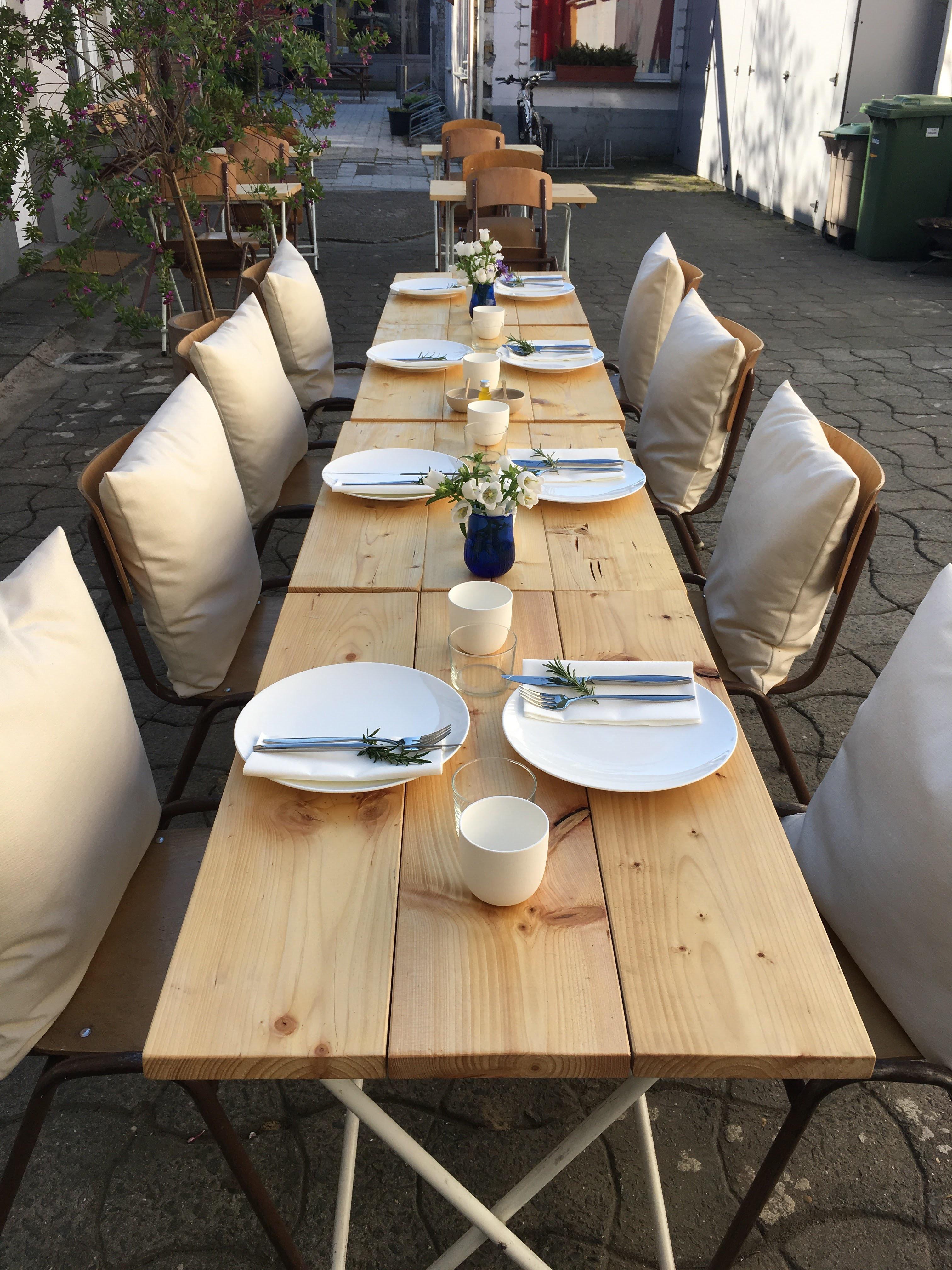 tafel om te brunchen