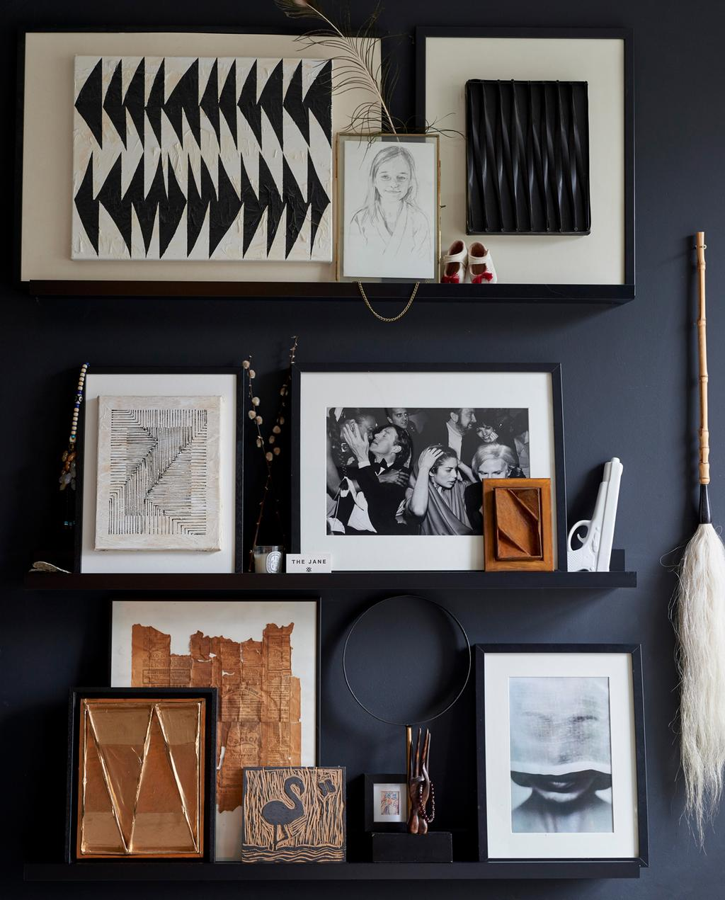 vtwonen 2-2020 | kunstmuur zwart