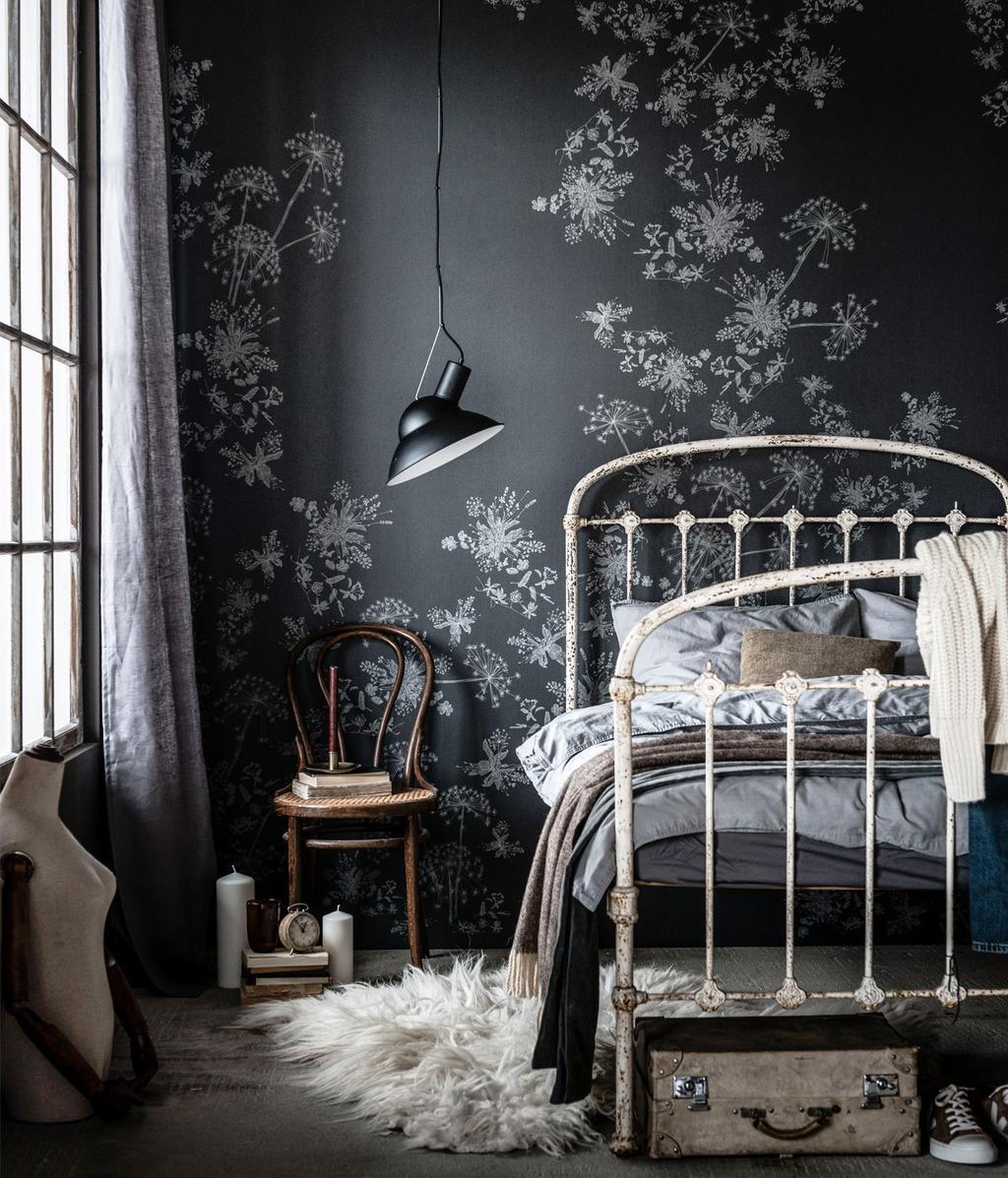 vtwonen fotobehang   slaapkamer   feestkalender 2020