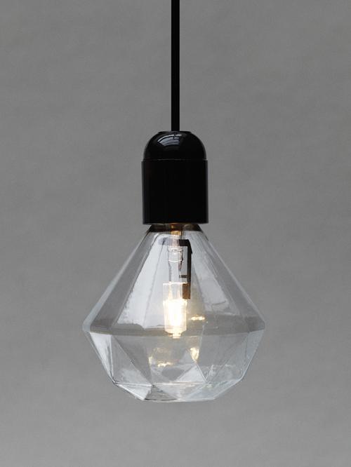 diamanten lampje