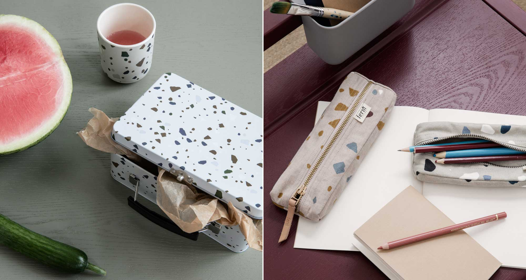 Lookbook Ferm Living Kids - Broodtrommel - Etui