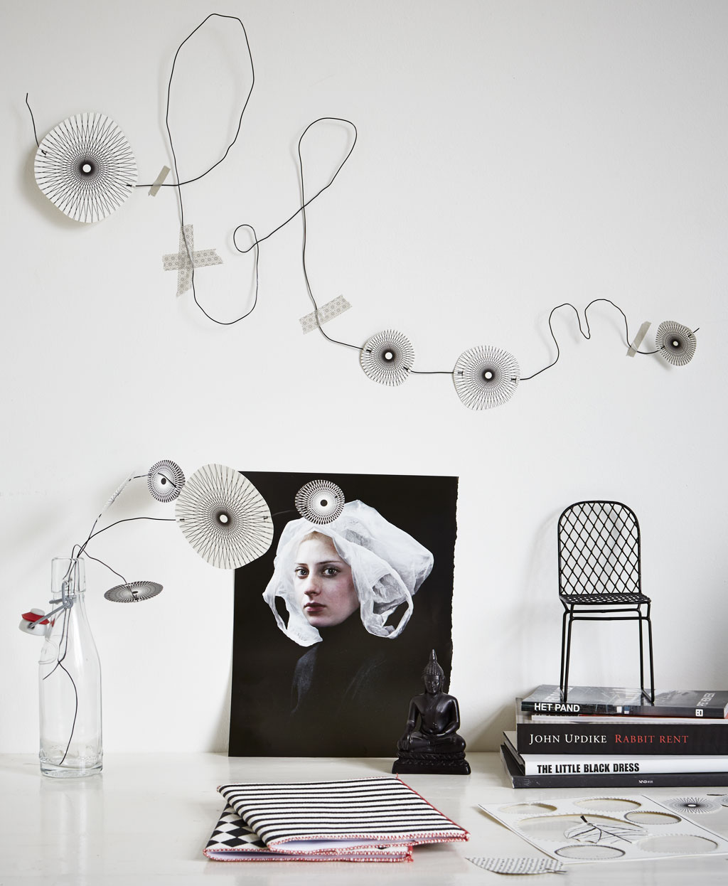 zwart-witte accessoires