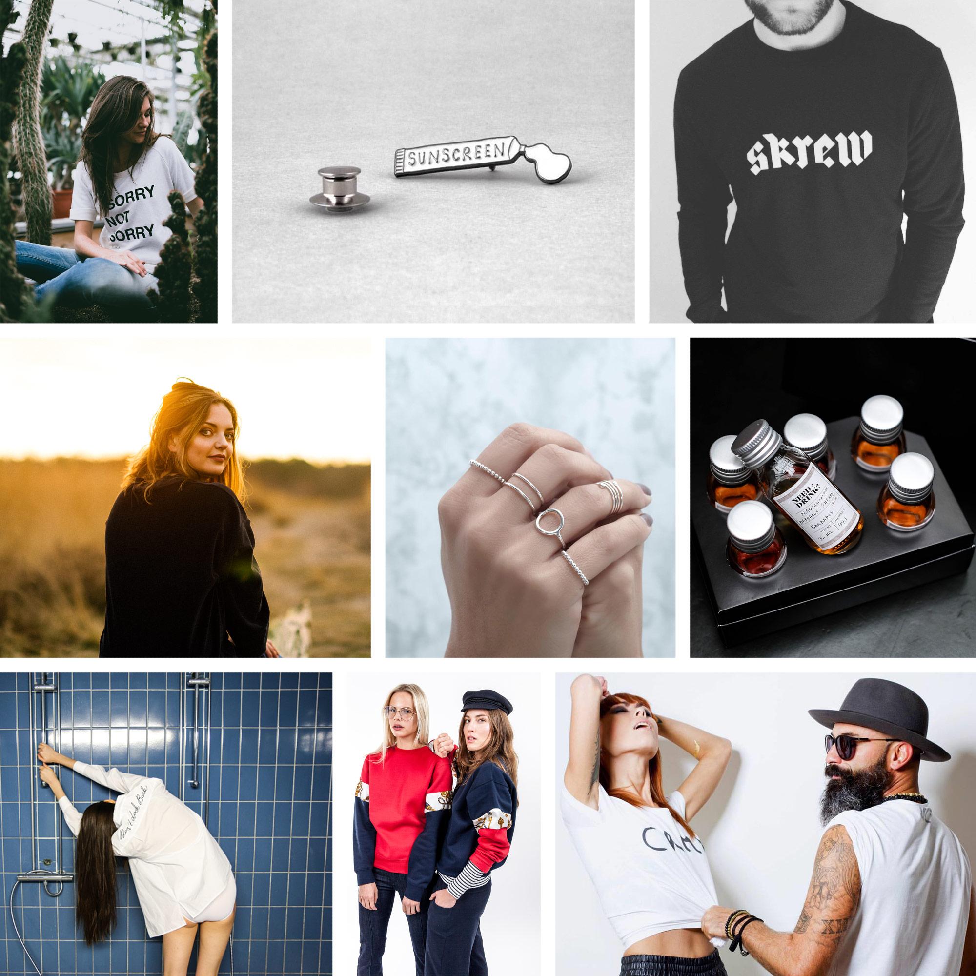 Flash Shop collage