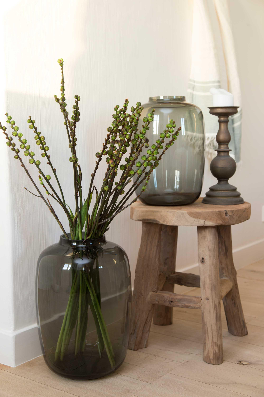 printemps tabouret vase decoration