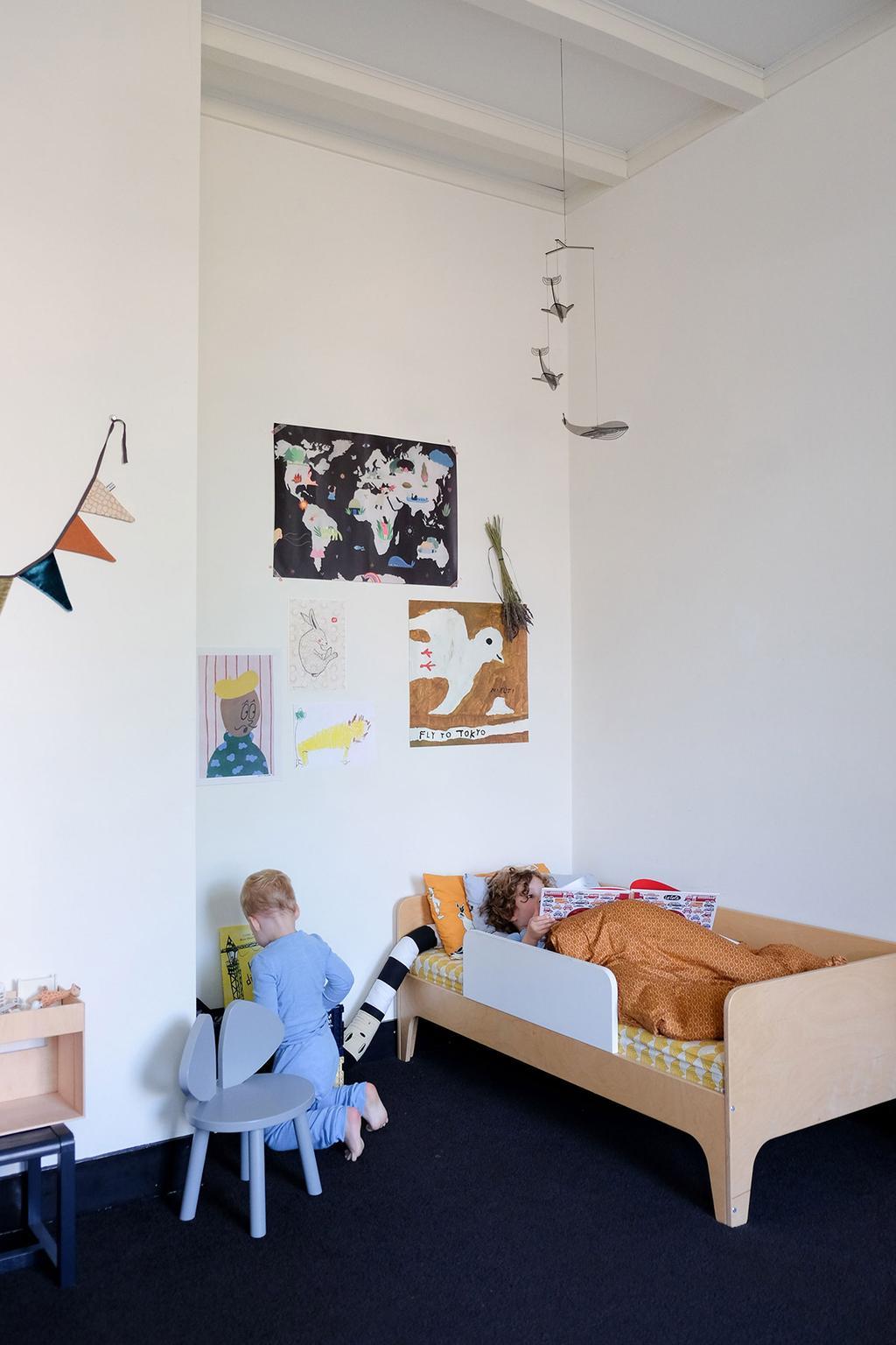 Walvissen mobiel Shapemixer in de kinderkamer van PRCHTG