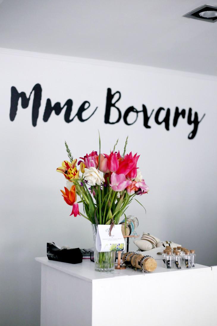 Mme Bovary winkel bloemen